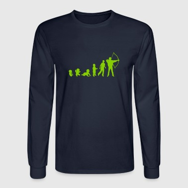 evolution archery - Men's Long Sleeve T-Shirt