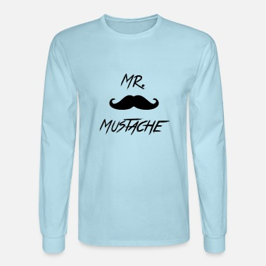Mustache Mr. Mustache - Men's Longsleeve Shirt