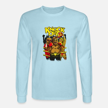 Knock Out knock Out gorilla - Men's Longsleeve Shirt