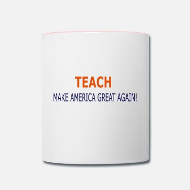 Teach TEACH - Contrast Coffee Mug
