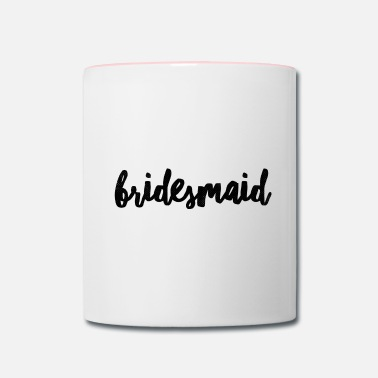 Bridesmaid Bridesmaid - Contrast Coffee Mug