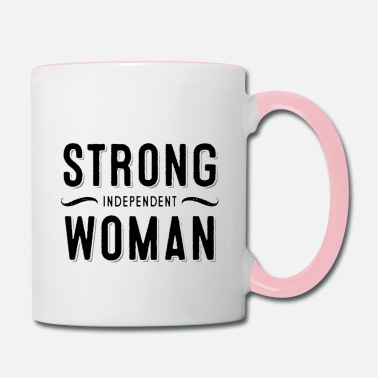 Strong Independent Woman - Contrast Coffee Mug