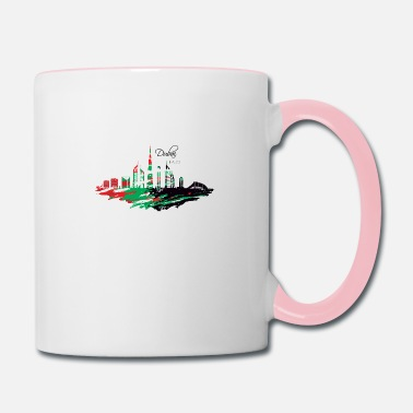 Uae Dubai UAE - Contrast Coffee Mug