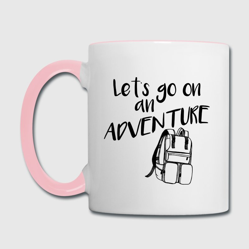 Glamping Adventure Coffee Mug - Contrast Coffee Mug