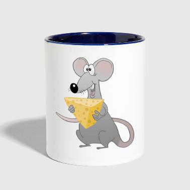 Mouse - Contrast Coffee Mug
