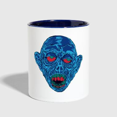 Graveyard Ghoul Shocking Blue - Contrast Coffee Mug