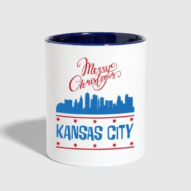 kansas city - Contrast Coffee Mug