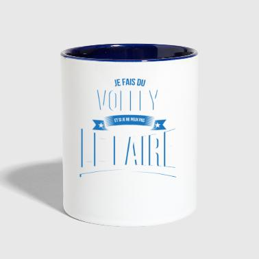 Volley no one can gift - Contrast Coffee Mug