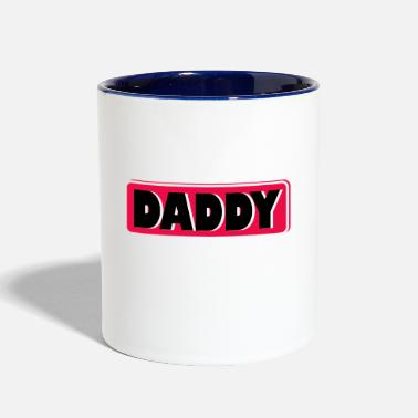 Daddy DADDY - Contrast Coffee Mug