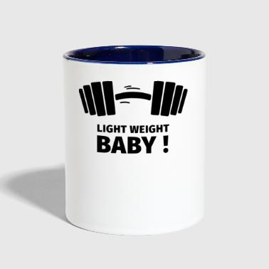 GIFT - LIGHT WEIGHT BABY BLACK - Contrast Coffee Mug