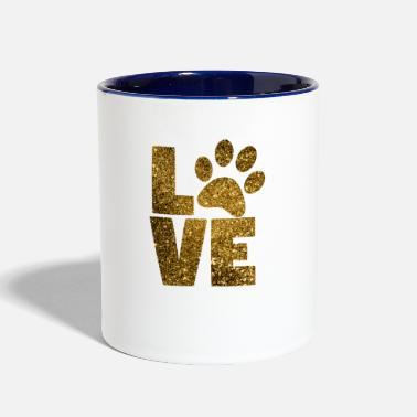 Animal Paw Print - Contrast Coffee Mug