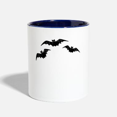 Bats Bat bat and bat - Contrast Coffee Mug