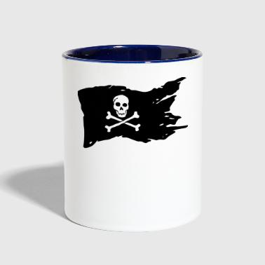 Pirates Flag - Contrast Coffee Mug