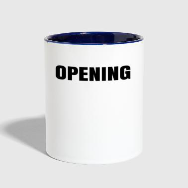 Open Opening - Contrast Coffee Mug
