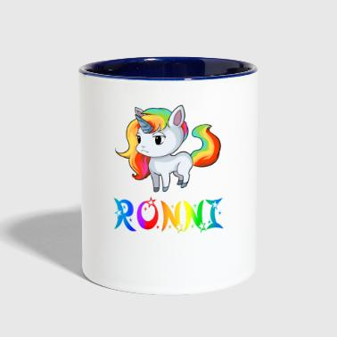 Ronnie Ronni Unicorn - Contrast Coffee Mug