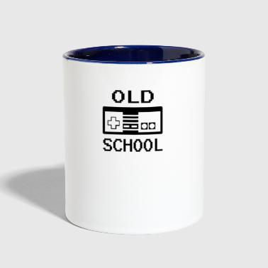 Old School - Contrast Coffee Mug