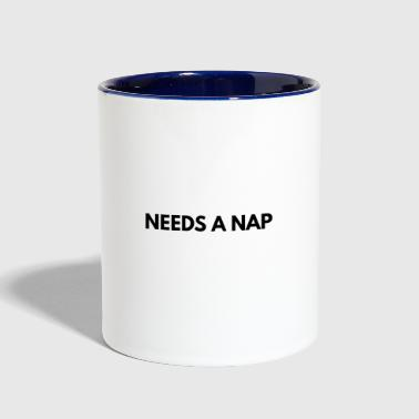 This Psychologist needs a nap - Contrast Coffee Mug
