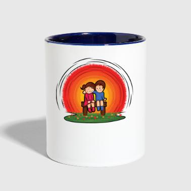 children - Contrast Coffee Mug