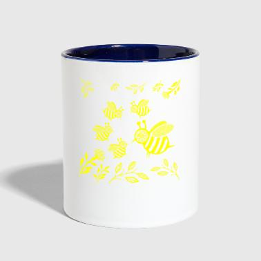 GIFT - HONEY BEE YELLOW - Contrast Coffee Mug