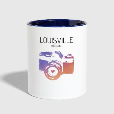 Camera Louisville - Contrast Coffee Mug