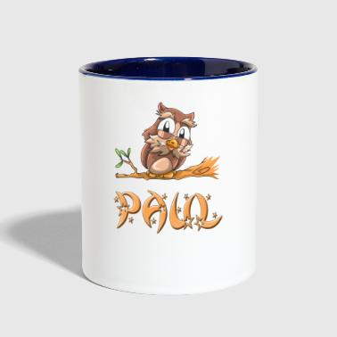 Paul Owl - Contrast Coffee Mug