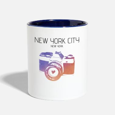 City Camera New York City - Contrast Coffee Mug