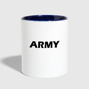 army - Contrast Coffee Mug