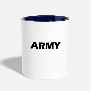Us army - Contrast Coffee Mug