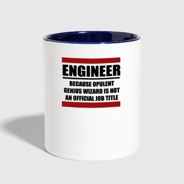 ENGINEER - Contrast Coffee Mug