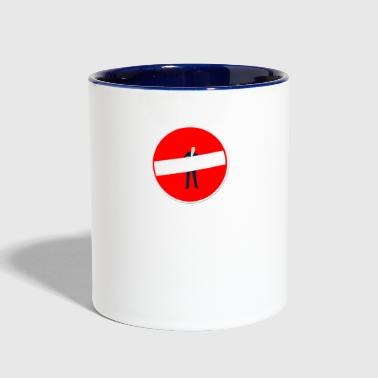 man - Contrast Coffee Mug