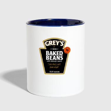 greys - Contrast Coffee Mug