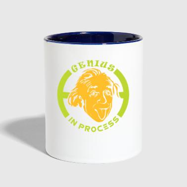 Albert Einstein - Contrast Coffee Mug