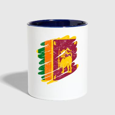Pinsel Land Heimat Sri Lanka - Contrast Coffee Mug