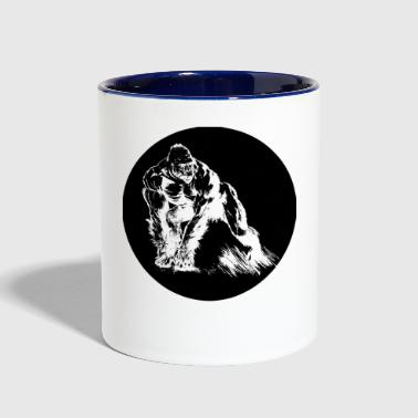 Chimpanzee - Contrast Coffee Mug