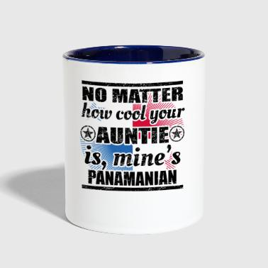 no matter auntie cool tante gift Panama png - Contrast Coffee Mug