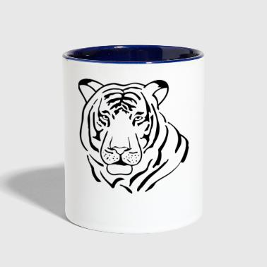 Tiger tiger - Contrast Coffee Mug