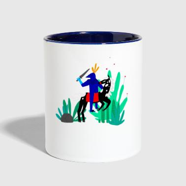 illustration - Contrast Coffee Mug