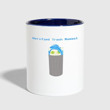 Verified Trash Mammal - Contrast Coffee Mug