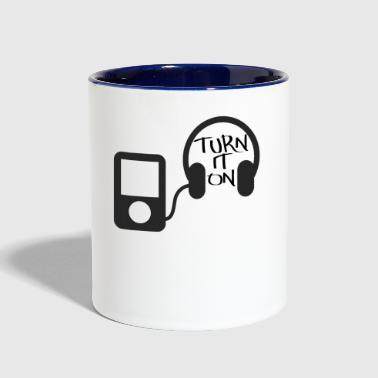 Turn On turn down for what turn it on - Contrast Coffee Mug