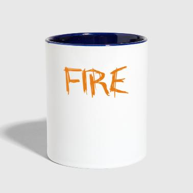 Fire - Contrast Coffee Mug