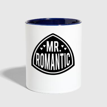 MR ROMANTIC - Contrast Coffee Mug