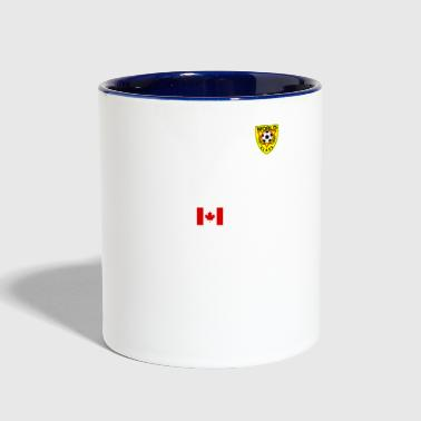 Canadian Football - Contrast Coffee Mug