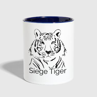 Siege Tiger - Contrast Coffee Mug