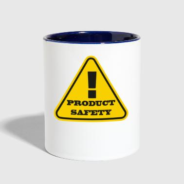 Product Safety - Contrast Coffee Mug