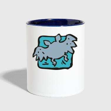 Bat - Contrast Coffee Mug