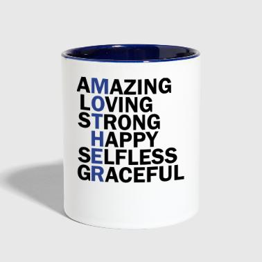 Funny mother day - Contrast Coffee Mug