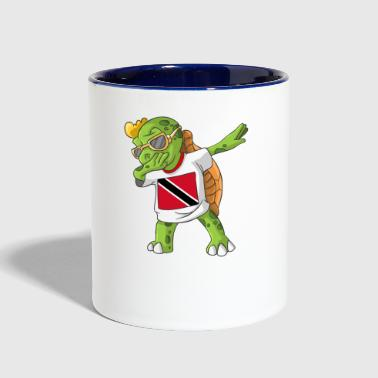 Trinidad and Tobago Dabbing Turtle - Contrast Coffee Mug