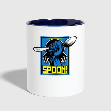 the tick spoon - Contrast Coffee Mug