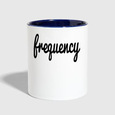 Frequency frequency - Contrast Coffee Mug