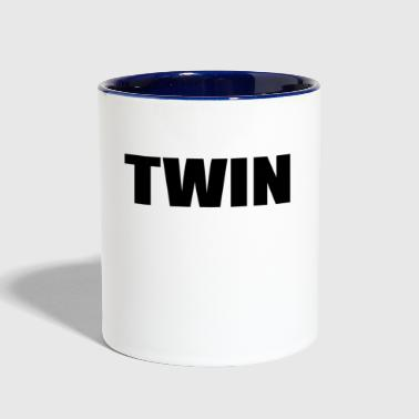 TWIN - Contrast Coffee Mug